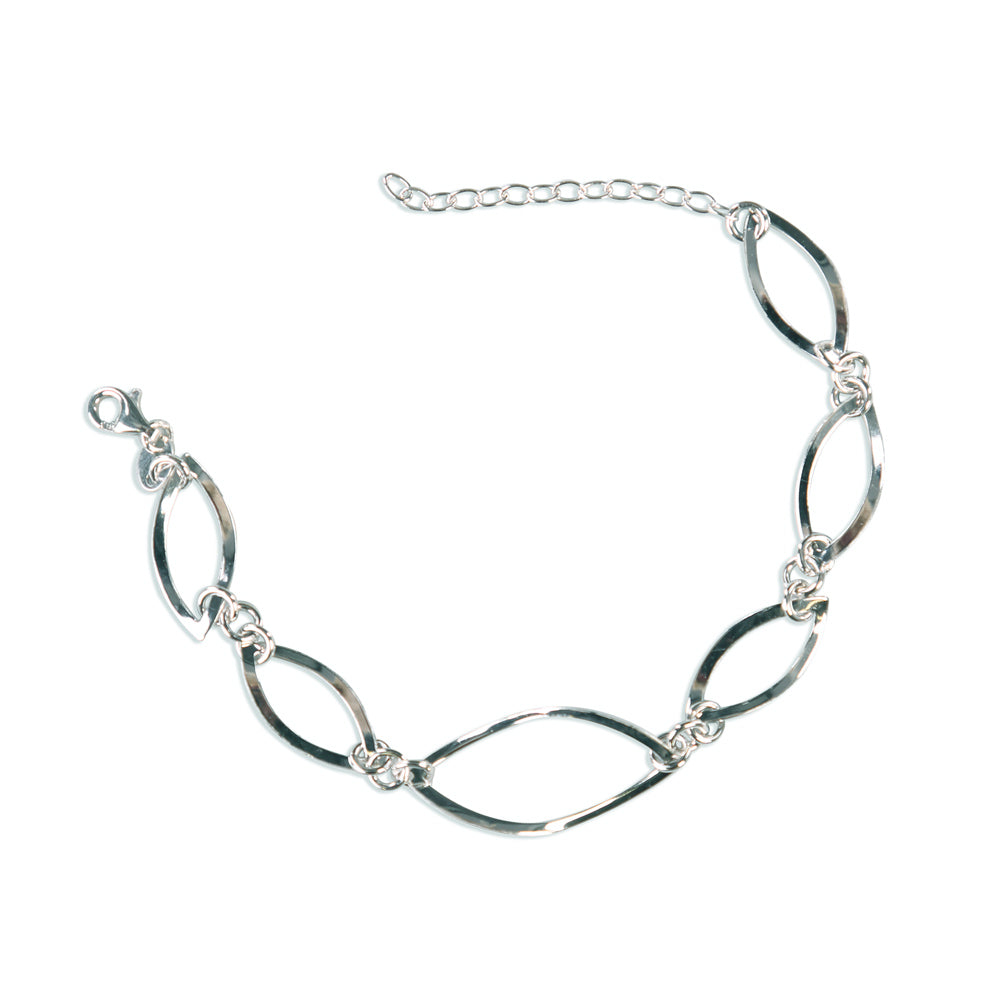Aubrey Multilayered Sterling Silver Bracelet
