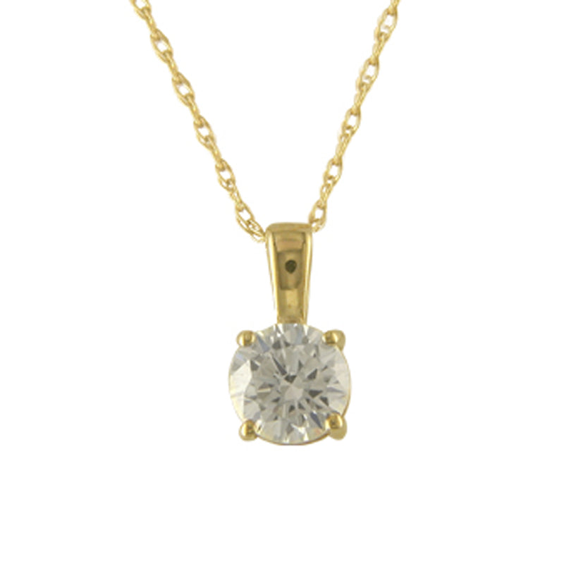 9ct Sacred Dainty Diamante Necklace