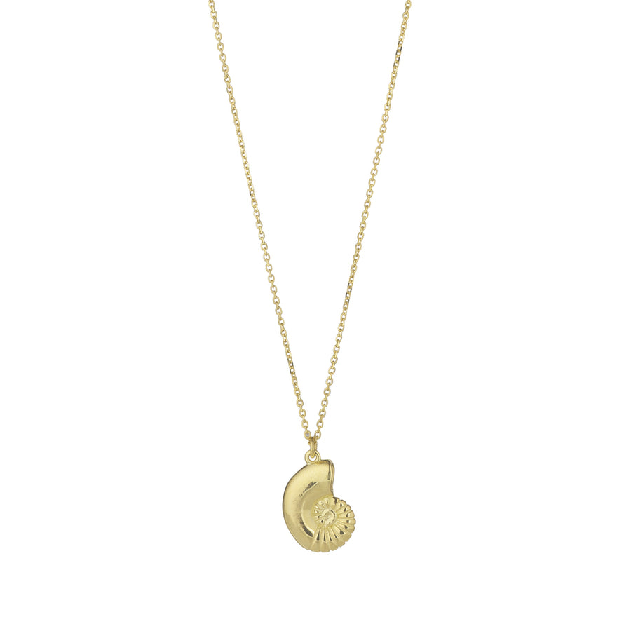 9ct Yellow Gold Sea Shell Pendant