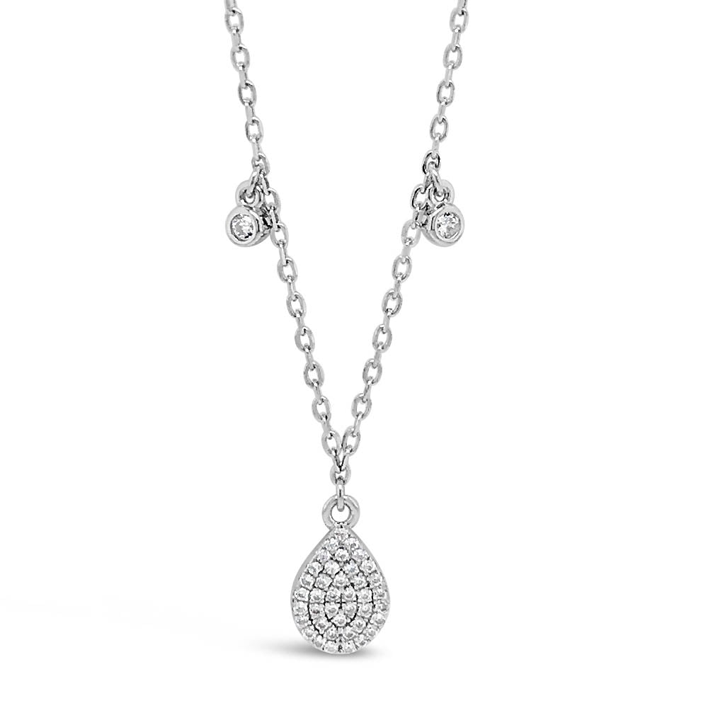 Rana Diamante Sterling Silver Charms Necklace