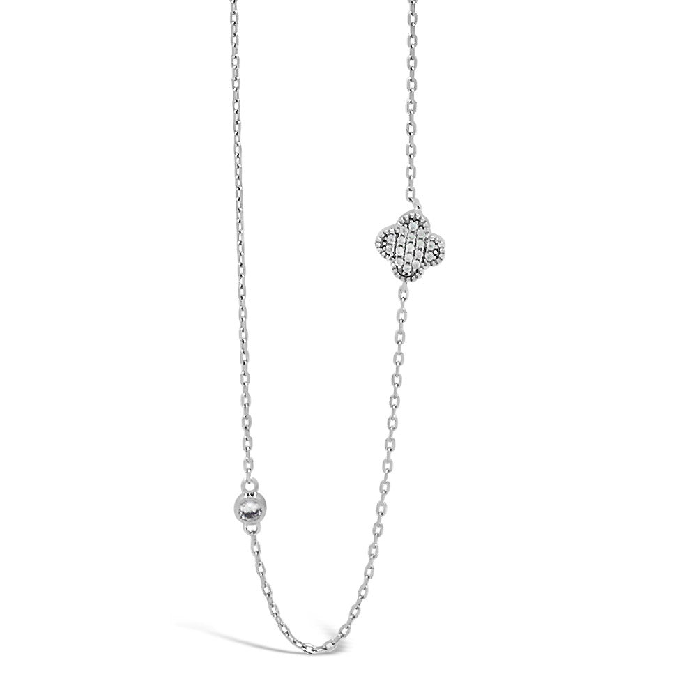 Tessa Diamante Sterling Silver Long Necklace