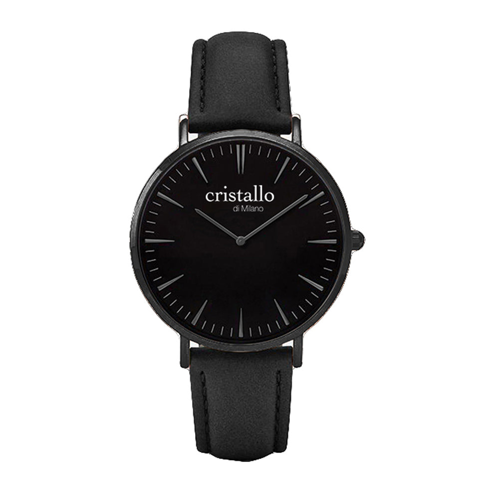 Noir Bohemian Black On Black timepiece