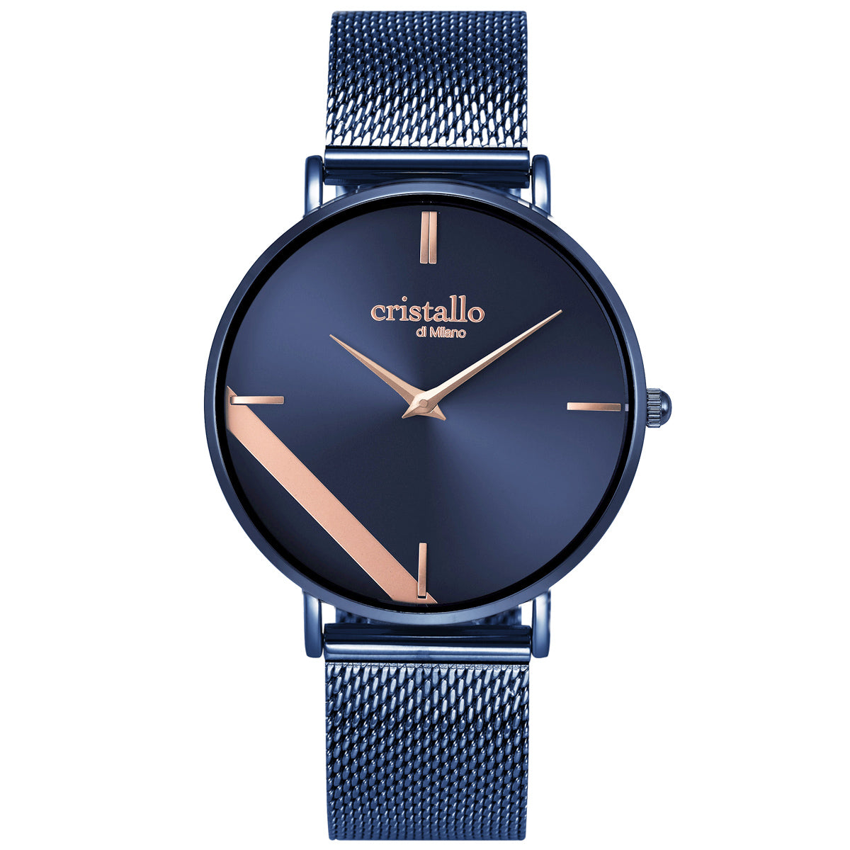 Sailor Electric Blue on Blue Mesh Strap