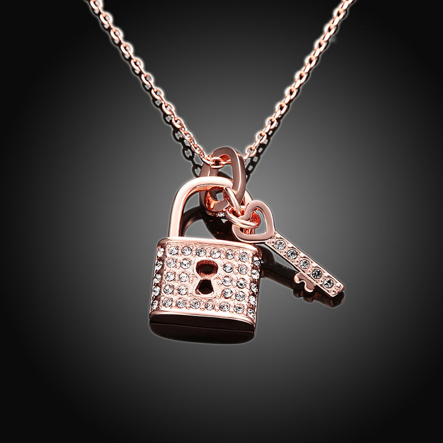 Atreca Pave Key To My Heart diamante Pendant