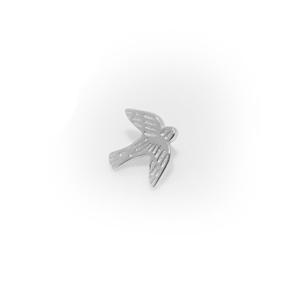 Confirmation Dove Children Sterling Silver Tie Tack Pin