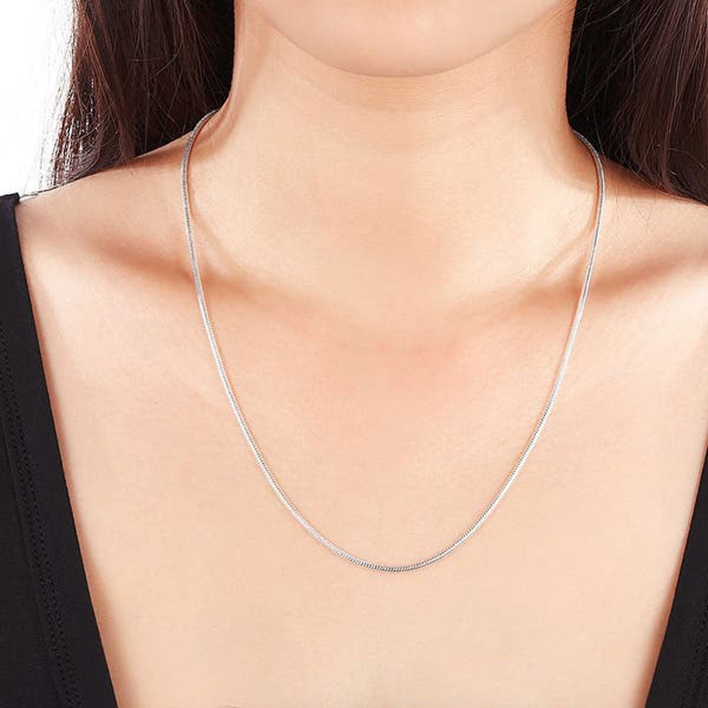 Cassidy Sterling Silver Unisex Snake Chain
