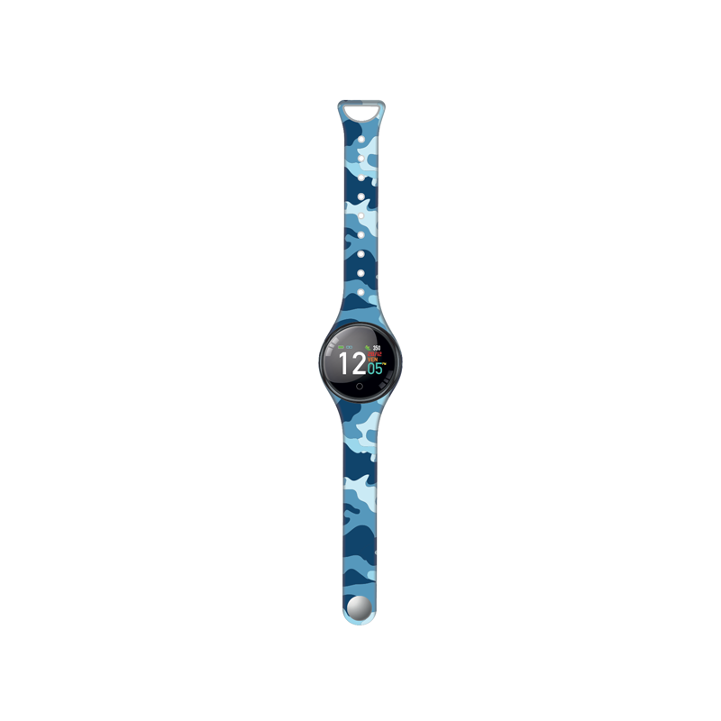 Blue Camouflage Freetime Smart Watch by Techmade