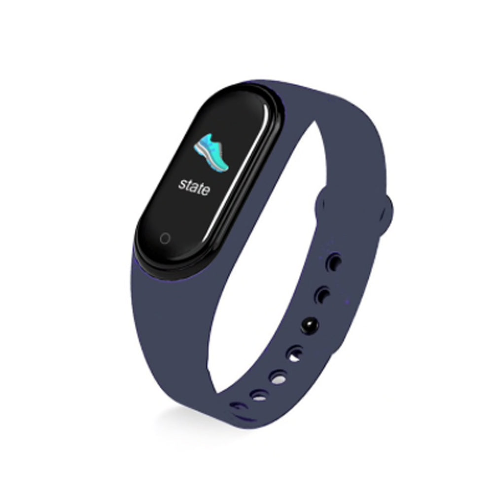 Smart Life Fitness Tracker Blue TEM3 Smart Watch