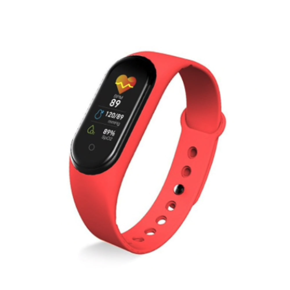 Smart Life Fitness Tracker Red TEM3 Smart Watch
