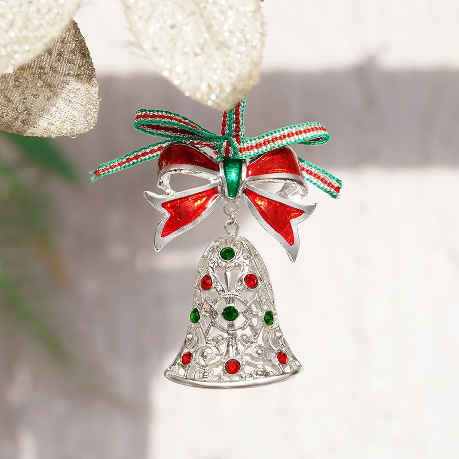 Swarovski Christmas Bell by Newbridge Silverware
