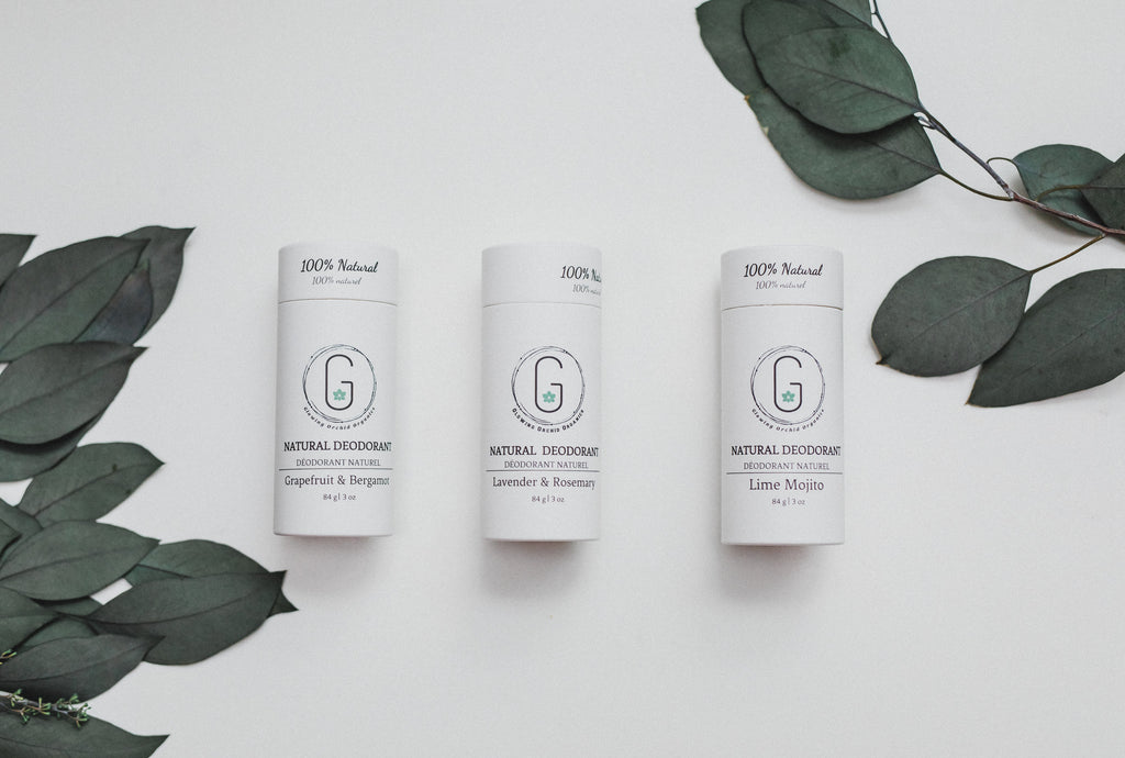 Biodegradable Paper Tube Organic Natural Deodorants