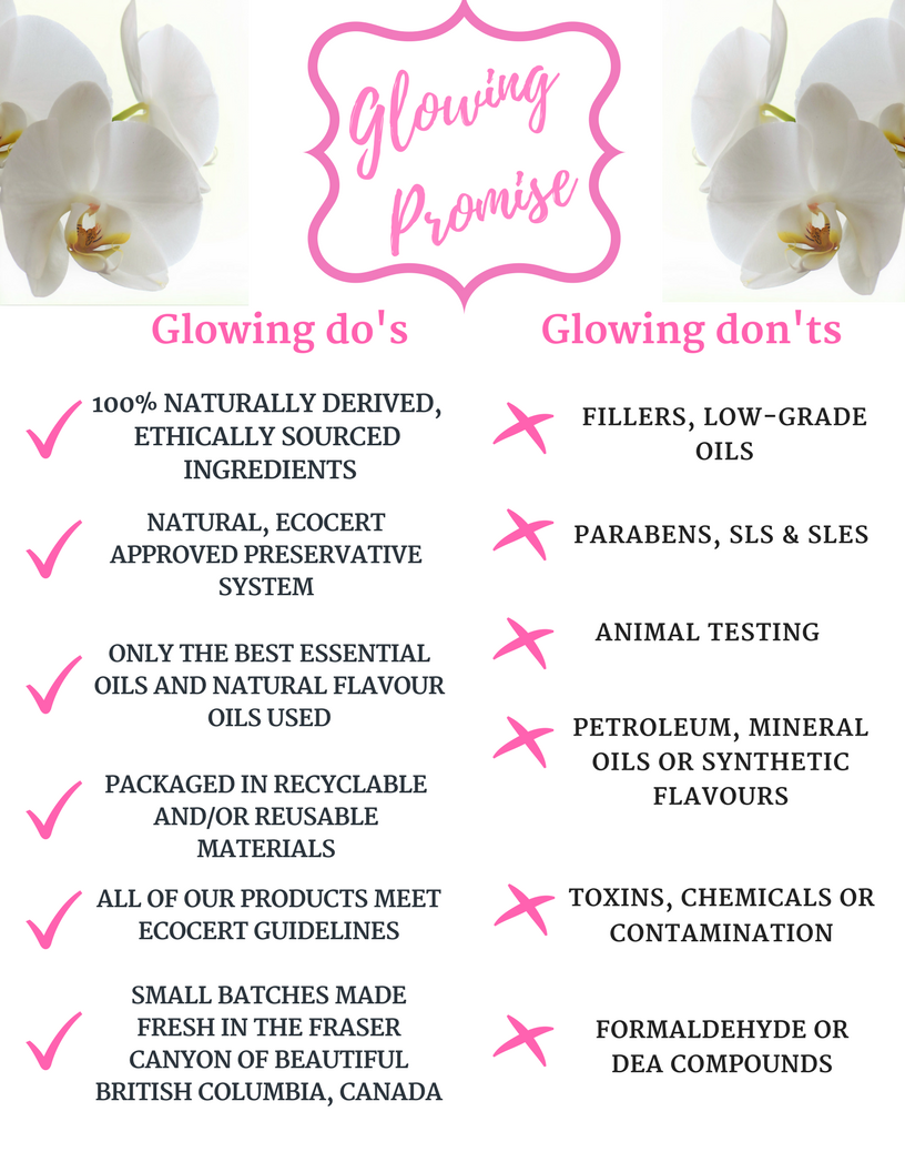 Glowing Orchid Organics Glowing Promise