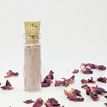 100% Natural Vegan Pink Clay & Rose (Balancing & Tightening) Facial Clay Mask Sample Size Glowing Orchid Organics