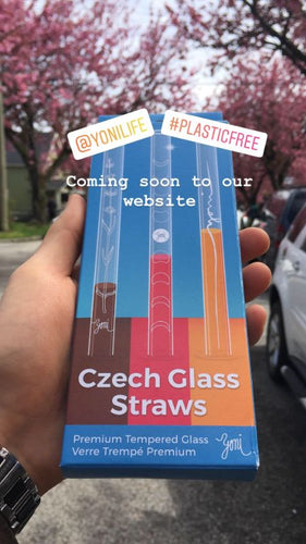 Glass Straws Front Packaging Details Borosilicate Yoni