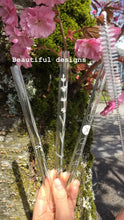 Glass Straws Borosilicate Designs Straw Cleaner out of box