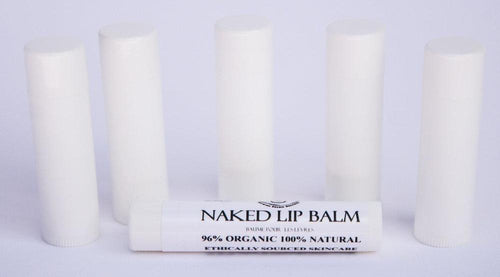 Naked Lip Balm (with natural sun blocking minerals) glowing orchid organics hand crafted in small batches in beautiful British Columbia additive free made in Canada