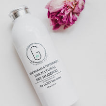 100% NATURAL DRY SHAMPOO (with pure bamboo extract) glowing orchid organics vegan cruelty free 100g made in Canada