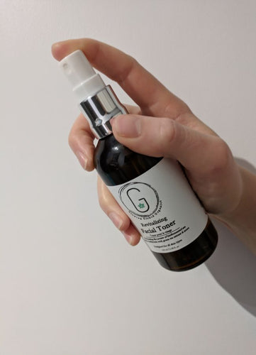 Revitalizing Facial Toner - Biofermented Sea Kelp, Hyaluronic Acid & More glowing orchid organics packed with  acids, antioxidants, cosmeceuticals and anti-inflammatories for skin hydration and treatment