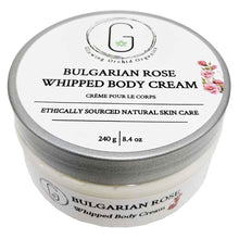 Bulgarian Rose Whipped Body Cream 240 g Glowing Orchid Organics