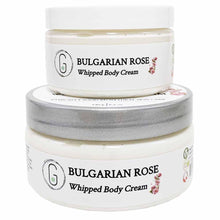 Bulgarian Rose Whipped Body Cream 240 & 130 g Glowing Orchid Organics