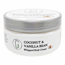 Coconut & Vanilla Bean Whipped Body Cream 240 g Glowing Orchid Organics
