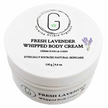 Fresh Lavender Whipped Body Cream 130 g Glowing Orchid Organics