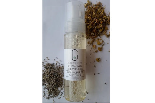Natural Baby Wash - Chamomile & Lavender