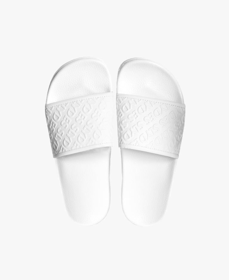 Chance White Women's Slider Sandals - SALE - WAS €25,00