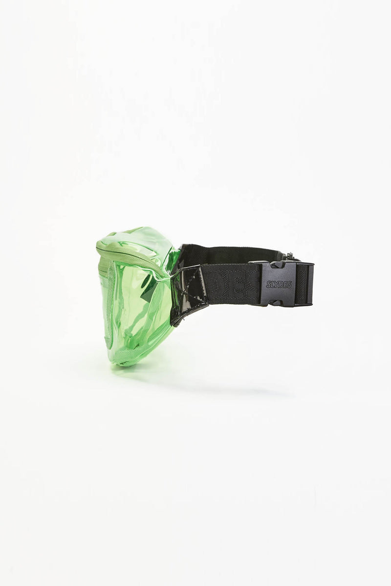 Crystal Neon Green Bum Bag