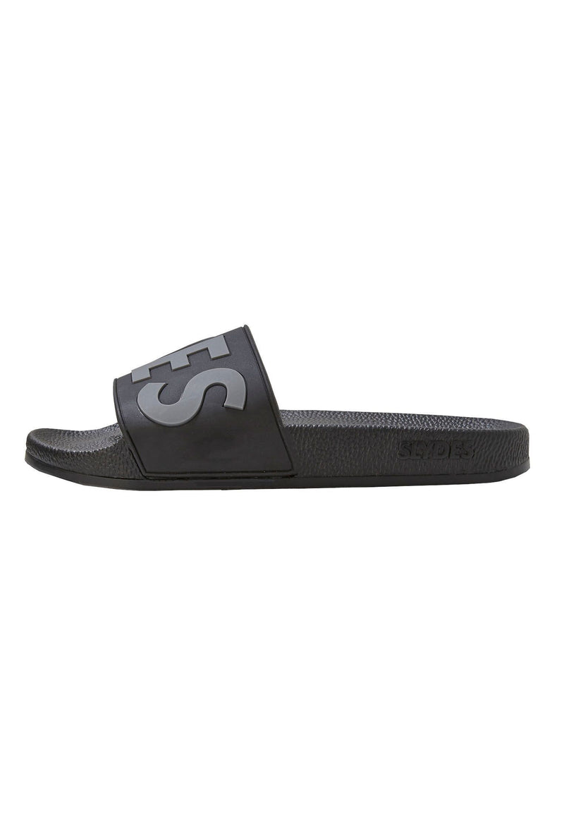 Deflect Men's Black Sliders