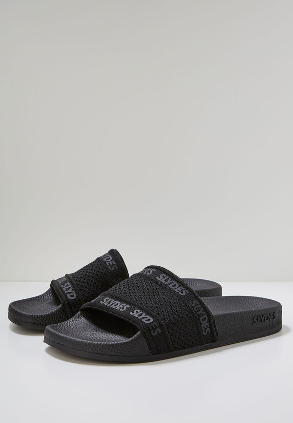 Domo Men's Black Sliders