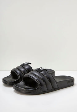 Mode Women's Black Sliders