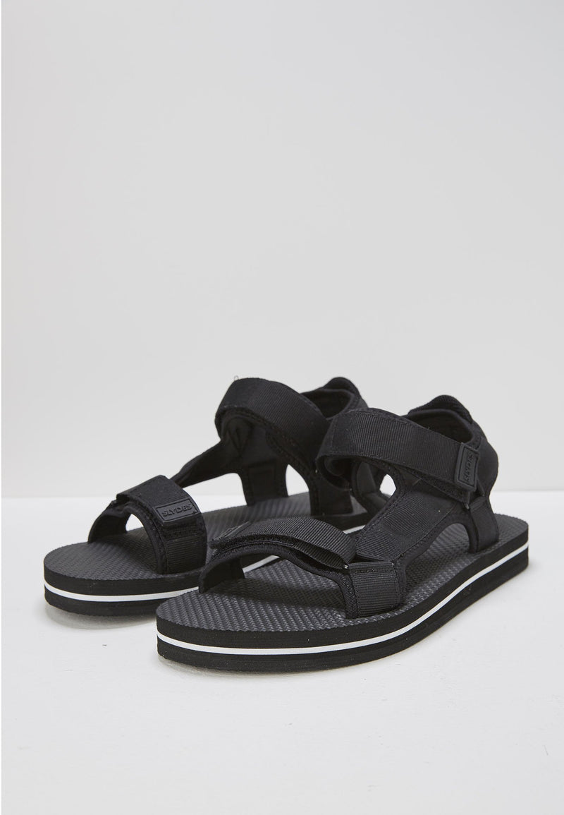 Nevis Women's Black/White Sandals