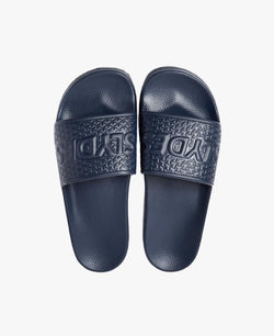 Cali Navy Men's Slider Sandals