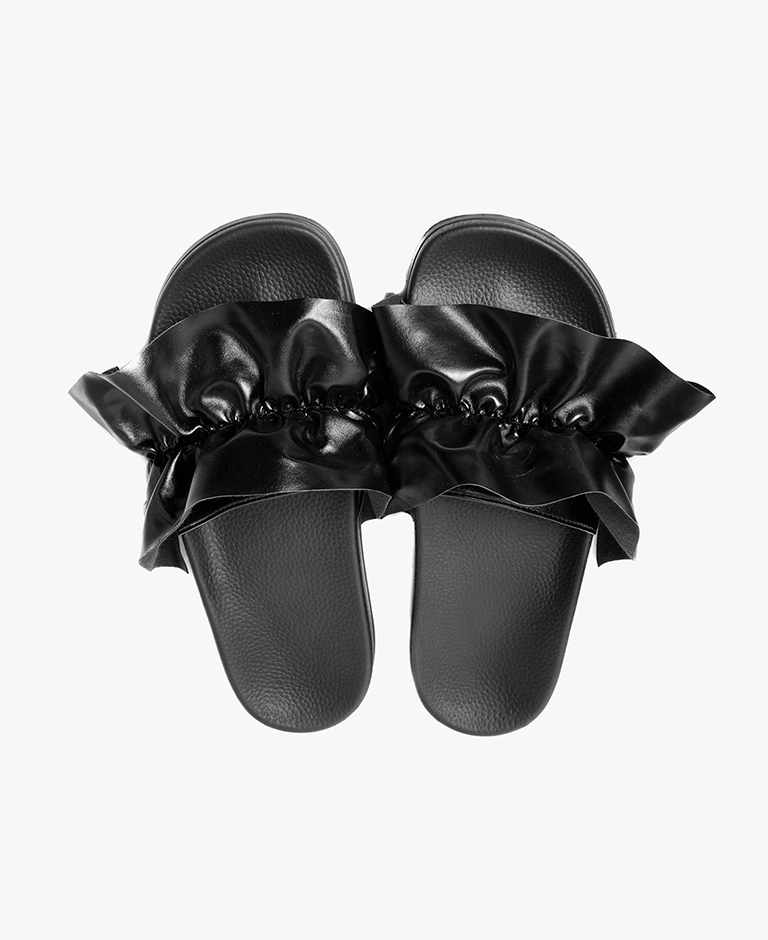 Vertigo Black Women's Slider Sandals - SALE - WAS €35,00