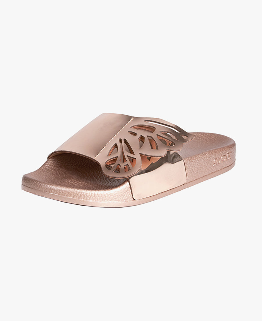 Wings Rose Gold Women's Slider Sandals - SALE - WAS €40,00