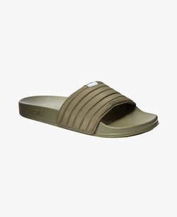 West Khaki Men's Slider Sandals - 60% OFF SALE