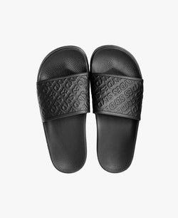 Chance Black Women's Slider Sandals