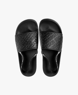 Roamer Black Men's Slider Sandals