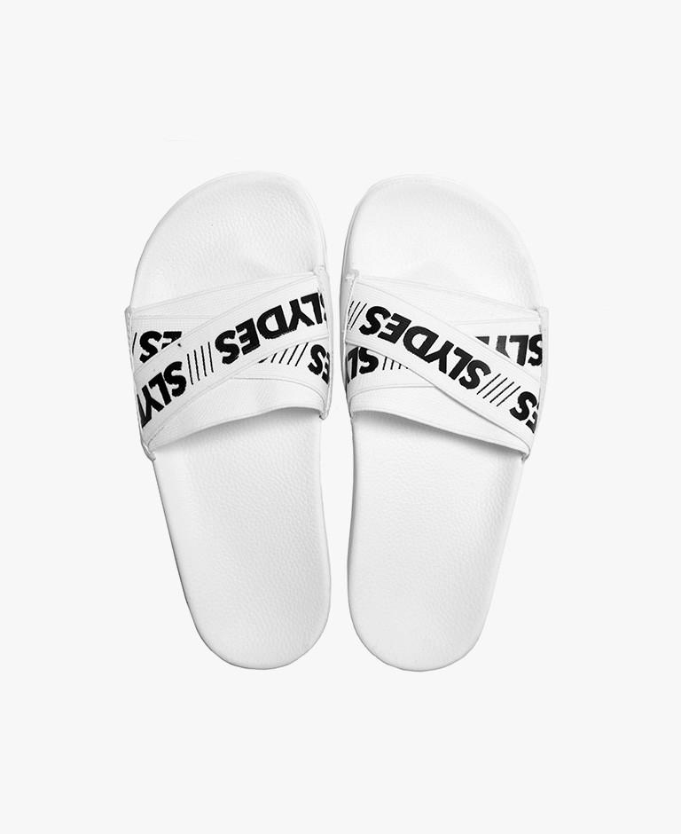 Slydes - Malibu White Sliders - The Worlds Best Sandals
