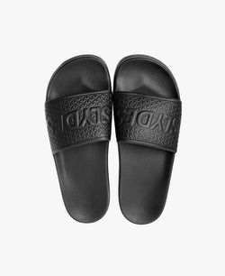 Cali Black Women's Slider Sandals