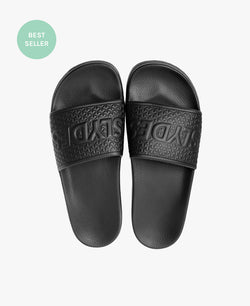 Cali Black Men's Slider Sandals