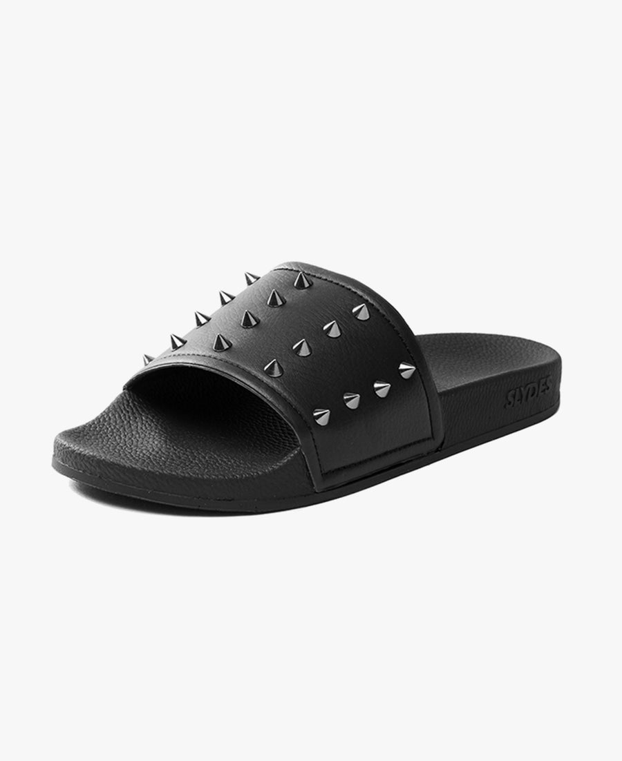 Nova Black Men's Slider Sandals - SALE - WAS €35,00