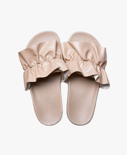 Vertigo Nude Women's Slider Sandals - 60% OFF SALE