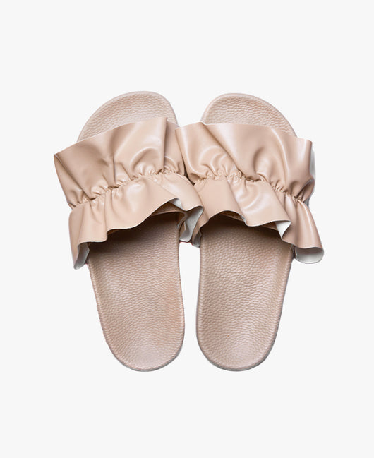 Vertigo Nude Women's Slider Sandals - SALE - WAS €35,00