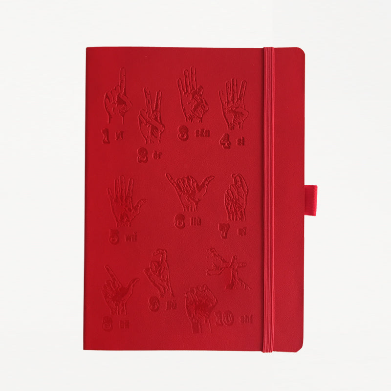 Finger Counting Notebook