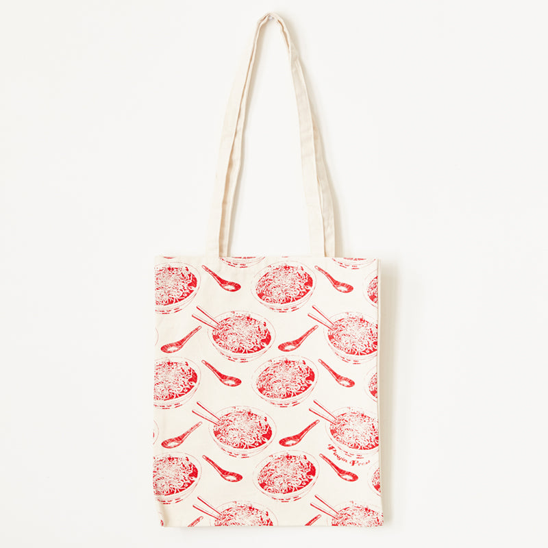 TOTE BAG, Noodle Bowl Pattern