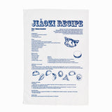Jiaozi Recipe Tea Towel