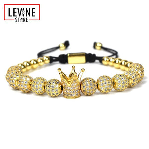 Luxury Imperial Crown Bracelet