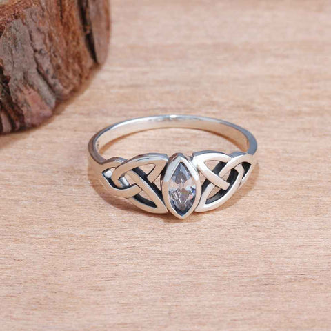 Celtic Fashion Silver Ring
